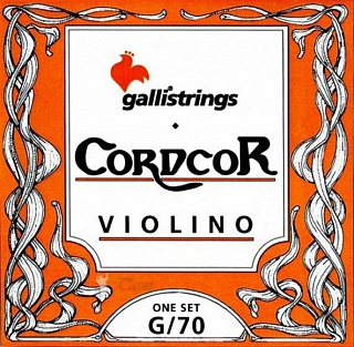 Струны для скрипки GALLI STRINGS G070