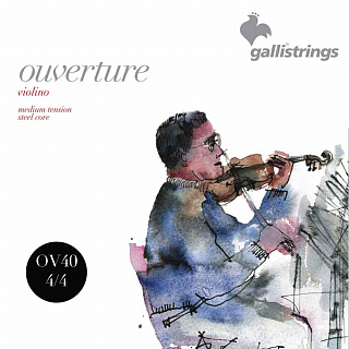 Струны для скрипки GALLI STRINGS OV40